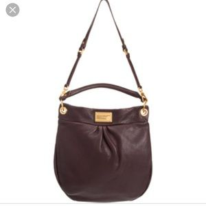Marc by Marc Jacobs holler hobo bag brown